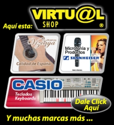 Tienda de Instrumentos Musicales Virtual Shop CR